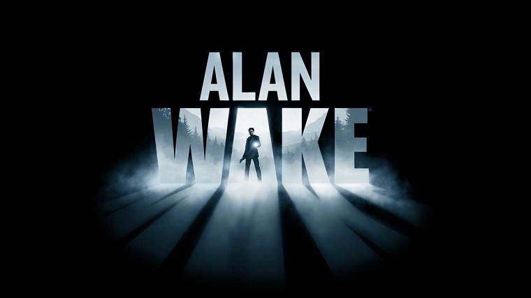 This is the cover art for Alan Wake