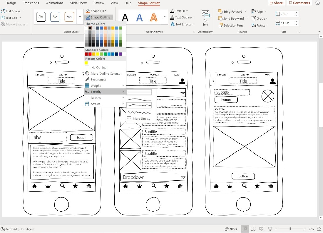 Microsoft announces Sketchy Shapes for Office apps - Neowin