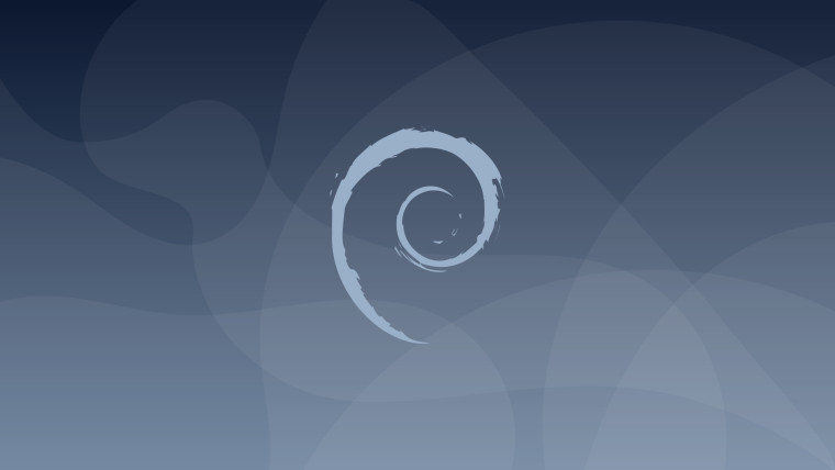 The Debian 10 wallpaper