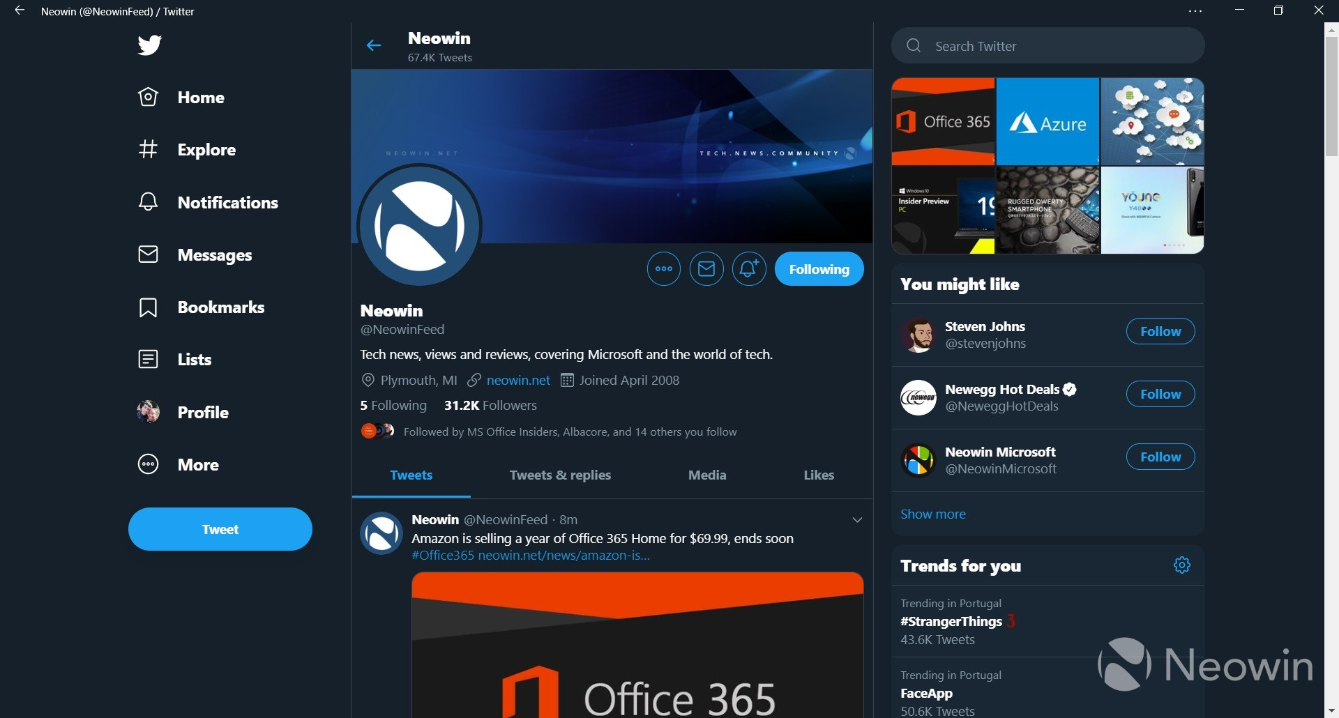 Twitter begins rolling out the new desktop experience based on the PWA