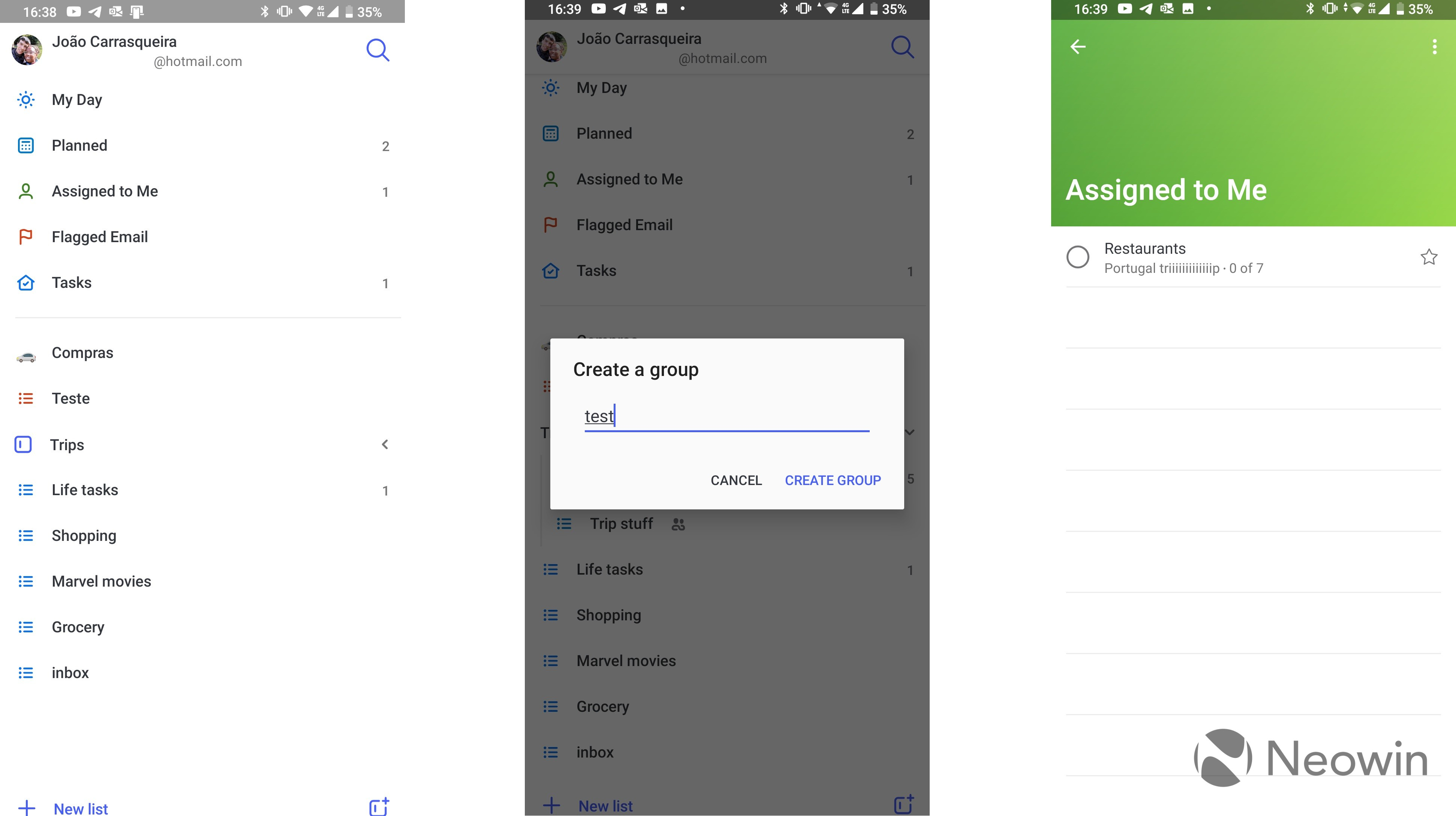 Microsoft To-Do beta for Android adds task list groups and