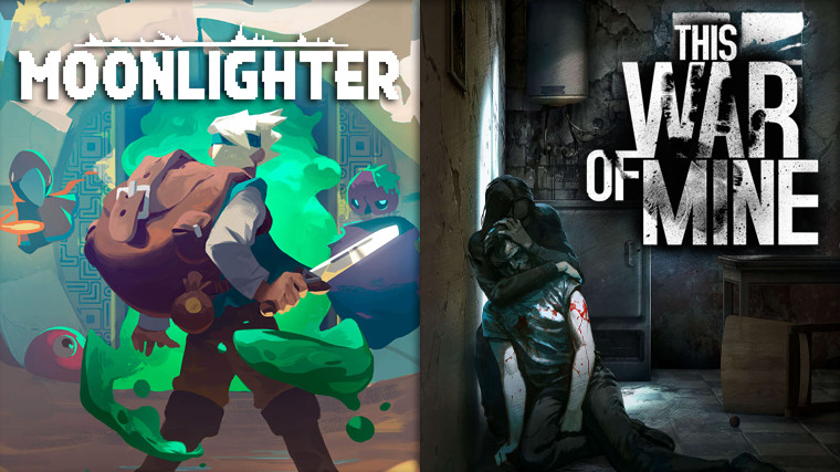Moonlighter and This War of Mine are free to claim on the Epic Games
