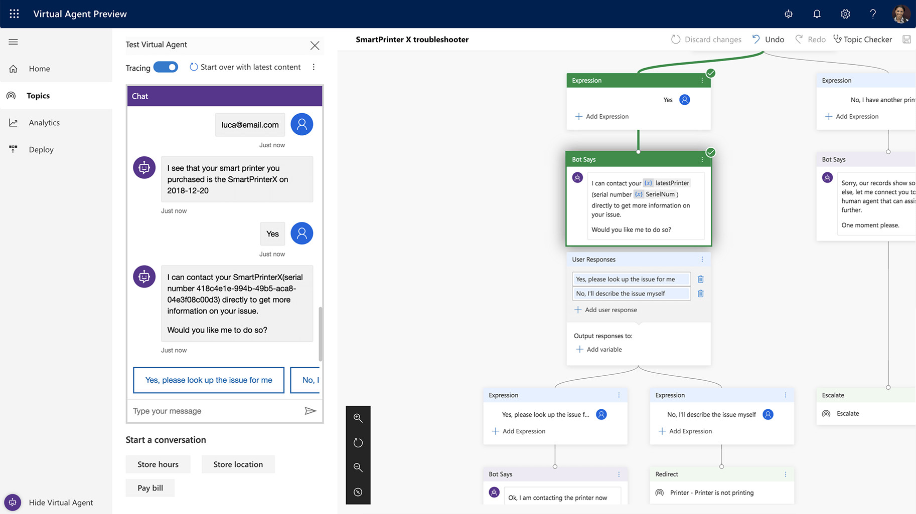 Dynamics 365 Virtual Agent now leverages Microsoft Flow for