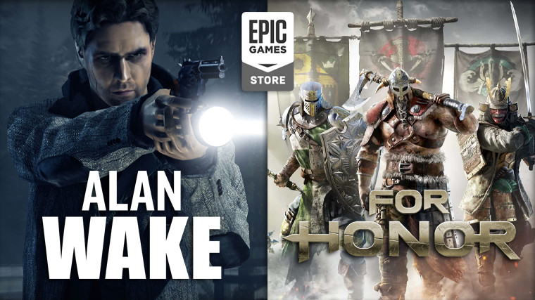 Alan Wake and For Honor are free to claim on the Epic Games