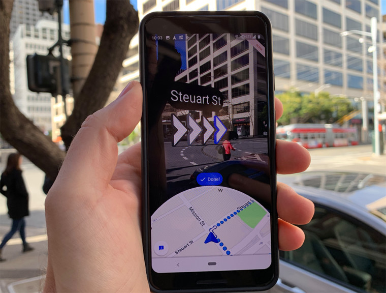 Google Maps adds new improvements for its Live View feature - Neowin
