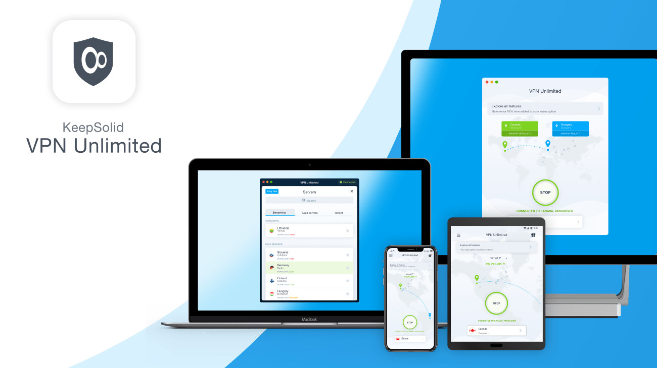 KeepSolid VPN Unlimited lifetime subscription now only $39