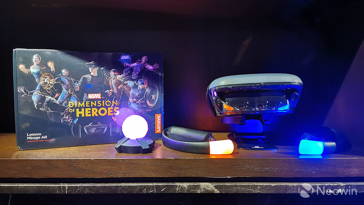 Lenovo announces Marvel Dimension of Heroes augmented