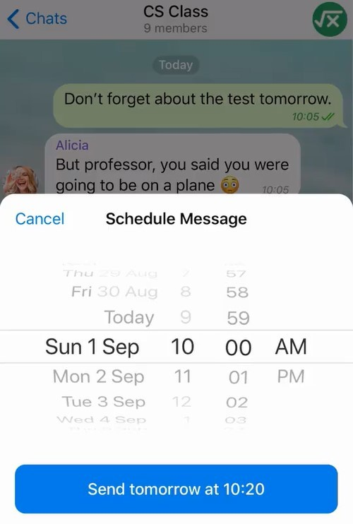 Telegram introduces scheduled messages, reminders, improved