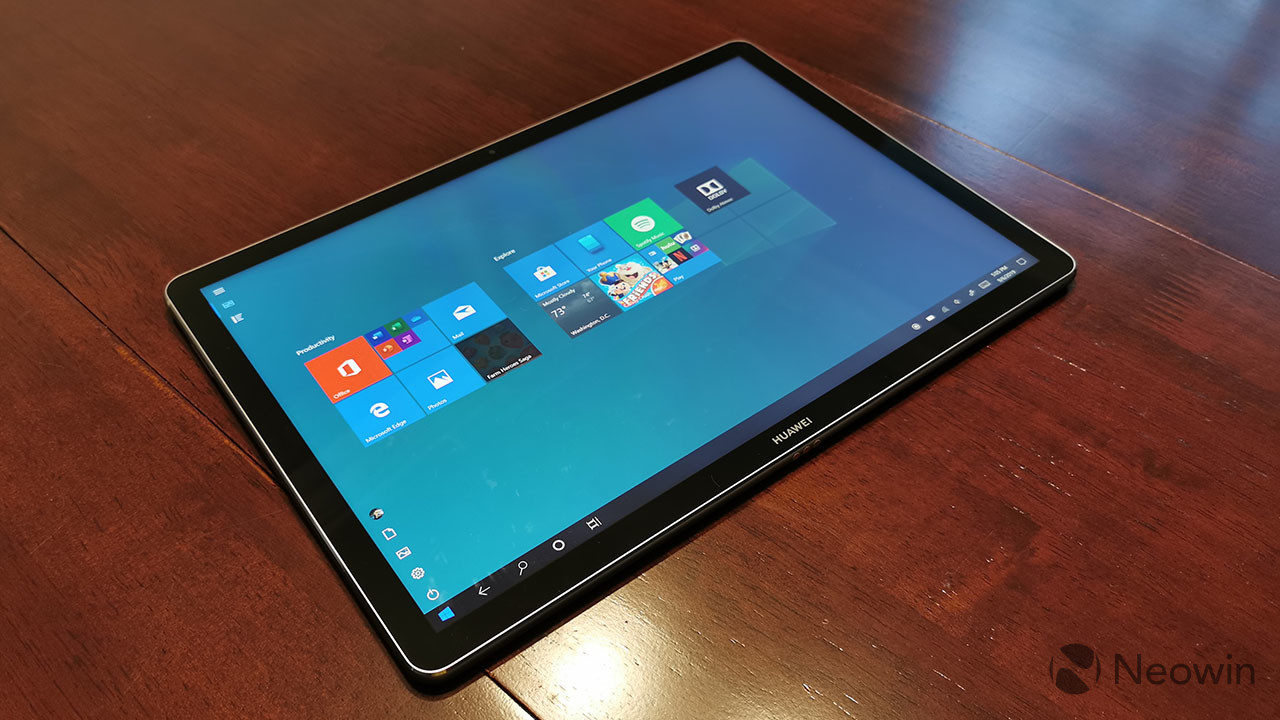 Huawei MateBook E review: The best Windows on ARM PC that