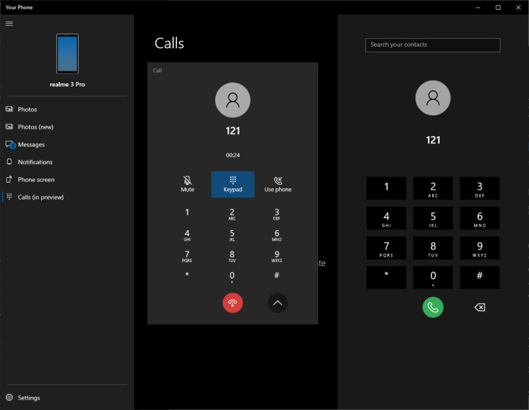 Microsoft's Your Phone desktop app to get support for making