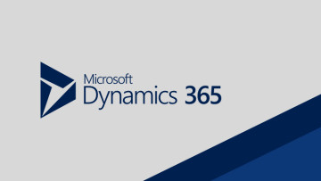 Microsoft Dynamics 365 text image darkens in the lower right corner