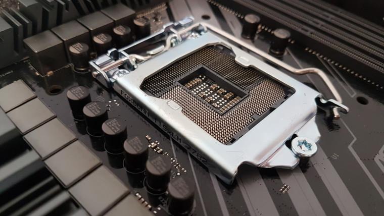 A motherboard socket