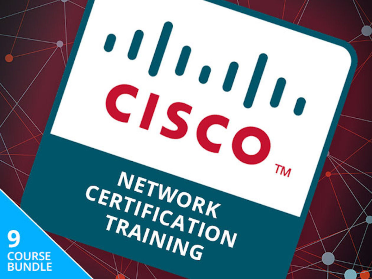 The Complete Cisco Network Certification Training Bundle is
