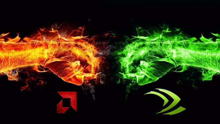 AMD or Team Red and Nvidia or Team Green battle it out for GPU supremacy