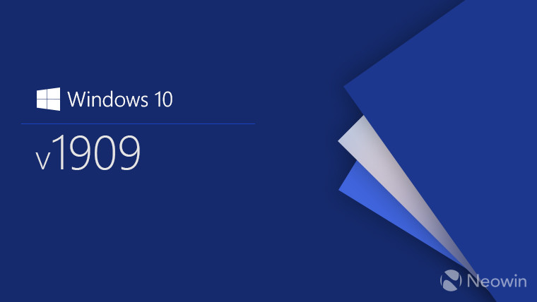 Microsoft releases Windows 10 version 1909 to seekers - Neowin on