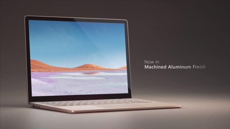 Surface Laptop 3 Aluminum finish