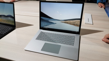 Surface Laptop 3 in its 15-inch variant
