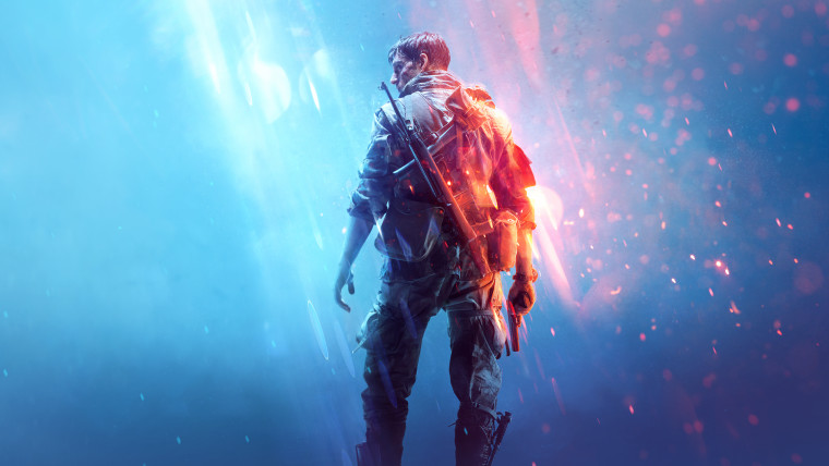 This is a promotional image of Battlefield V