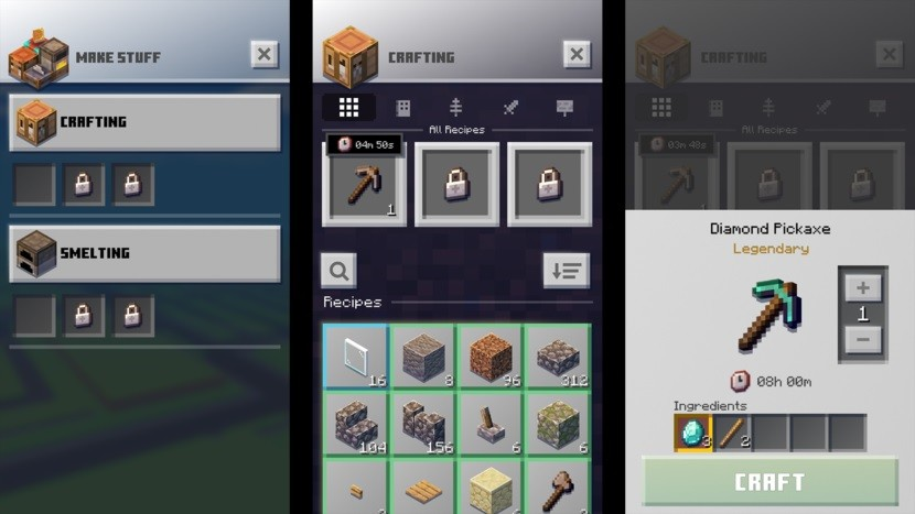 Latest Minecraft Earth beta rolls out crafting, smelting, and ruby  mechanics - Neowin
