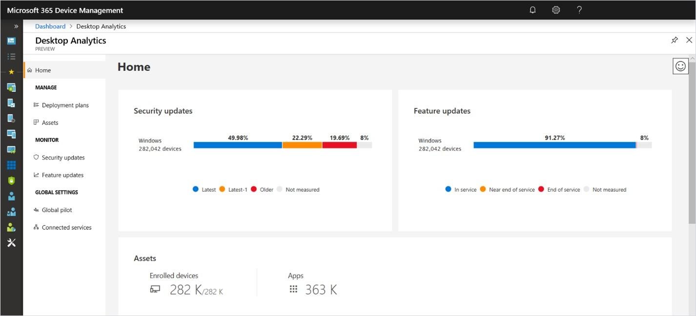 Microsoft announces general availability of Desktop Analytics