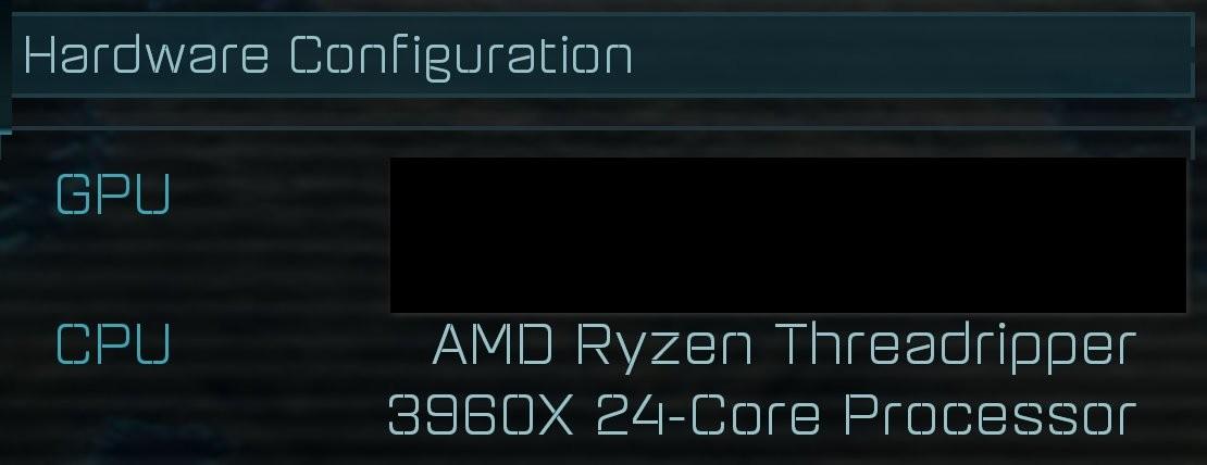 AMD's Threadripper 3000 series processor names, potential