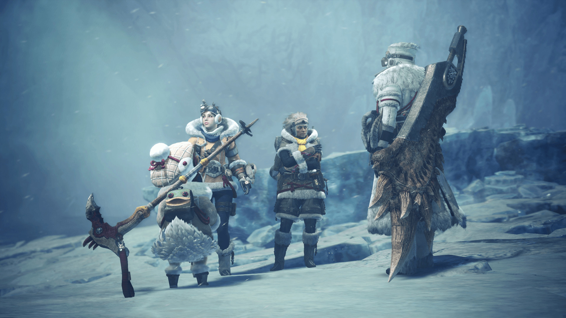 Monster Hunter World Iceborne Heads To Pc In January With
