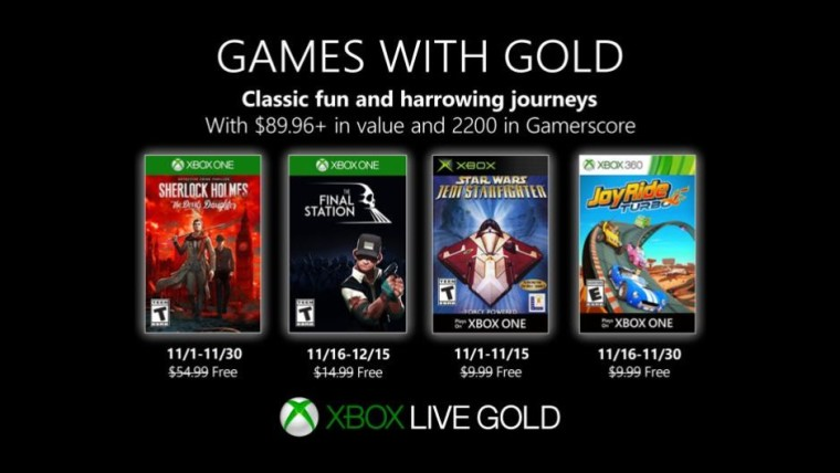Games With Gold November 2020.Games With Gold The Final Station And Joy Ride Turbo Are
