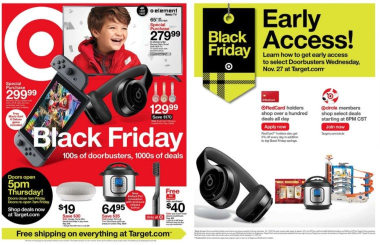 Target Black Friday 2019 deals: Android smartphones, 4K TVs