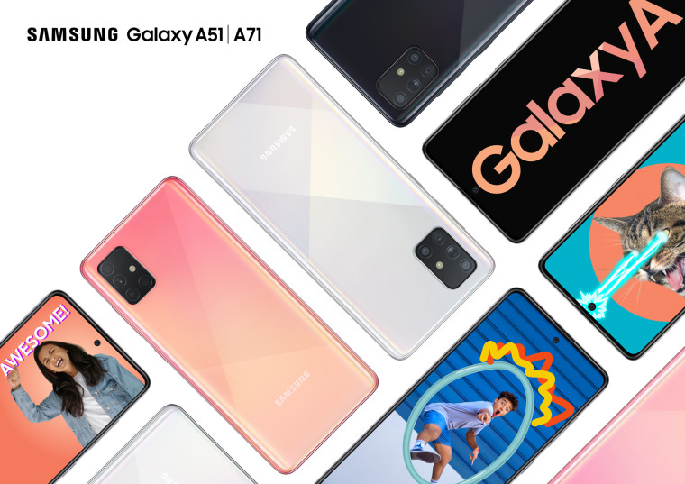Image result for Galaxy A71 - HD Product images