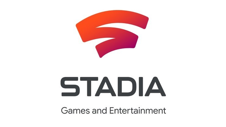 Stadia logo on a white background