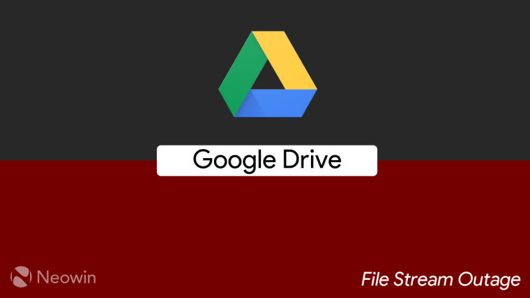 Google restores Drive File Stream service for G Suite after a brief outage