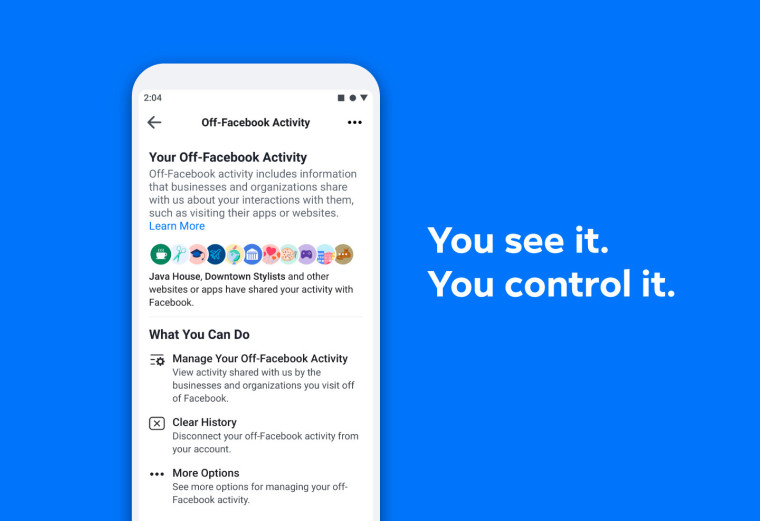 Facebook announces new features geared towards data protection and privacy