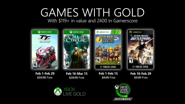 Games with Gold: Call of Cthulhu and Star Wars Battlefront are now free - Neowin