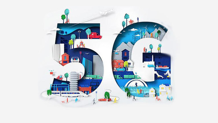 A 5G graphic produced by Nokia