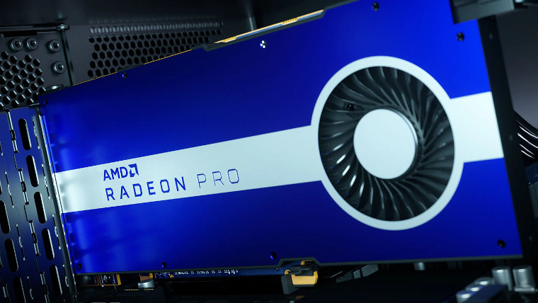 AMD Radeon Pro graphics card