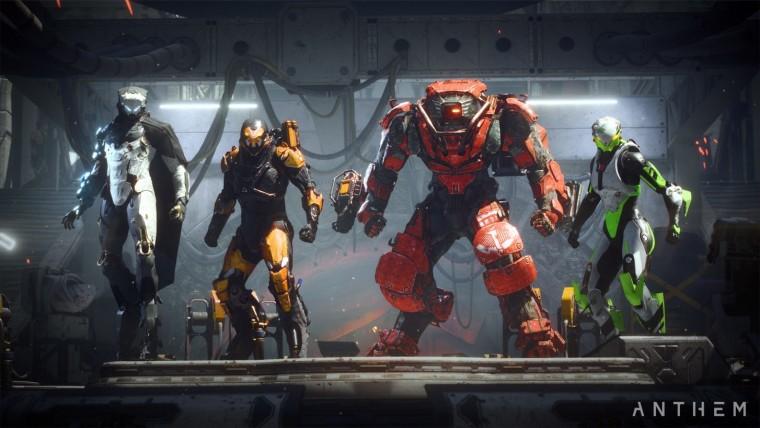 Anthem playable armors