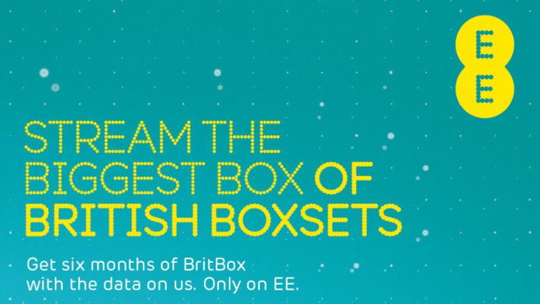 EE: Stream the biggest box of British boxsets. Get six months of BritBox with the data on us. Only on EE.