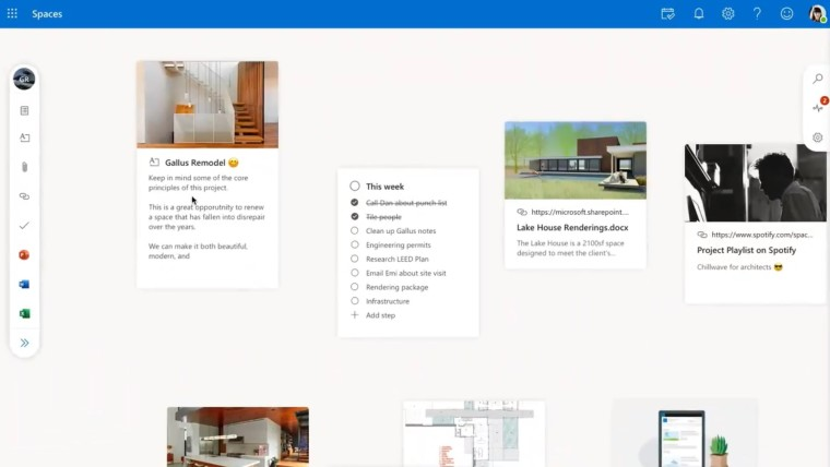 Outlook Spaces shows up in leaked video, makes it easier to manage projects - Neowin