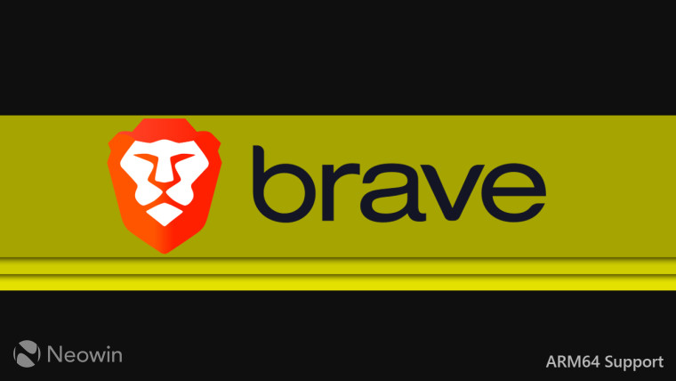 An unofficial version of Brave browser brings native ARM64 support - Neowin