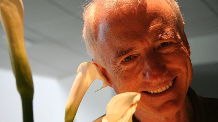 A photograph of Larry Tesler