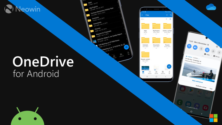 Image of article 'OneDrive for Android updated with support for Pixel 4's face unlock'