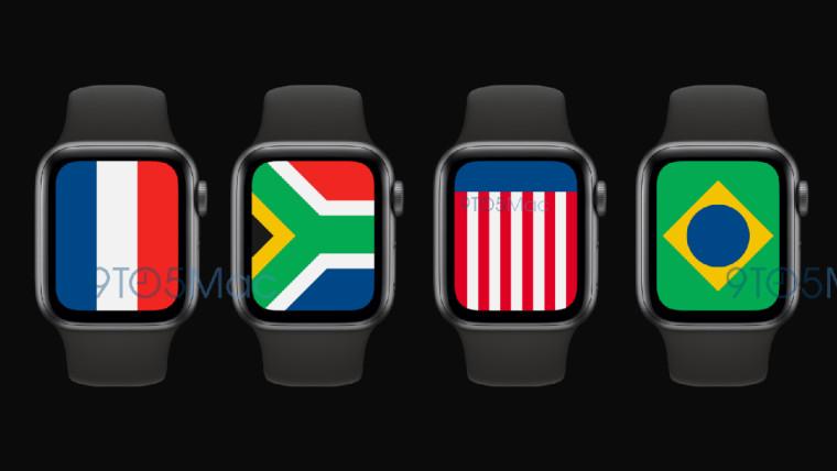 """وبحسب ما ورد سيتضمن watchOS 7 وجه الساعة """"الدولي"""" 1"""