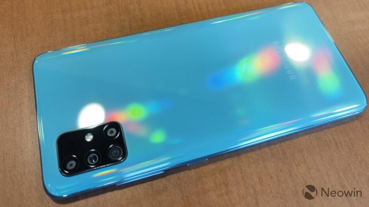 三星据报道为Verizon开发了由Snapdragon 765G驱动的Galaxy A51