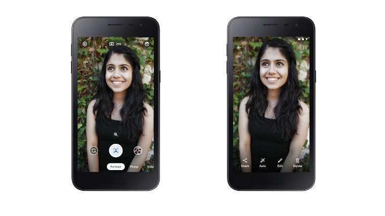 Google's Camera Go app.
