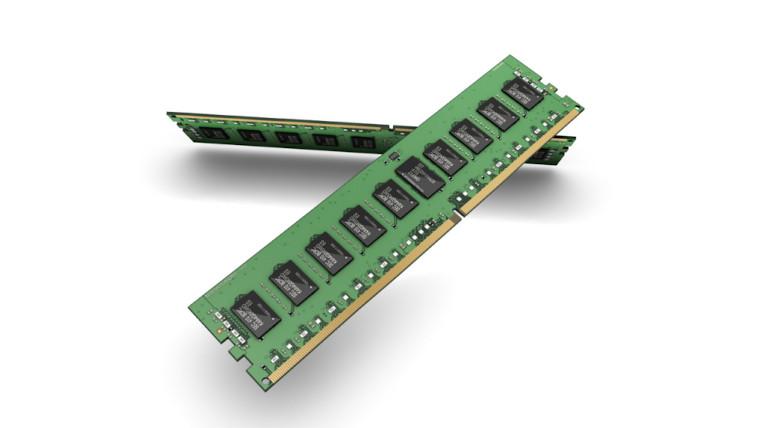 Image of Samsung DRAM