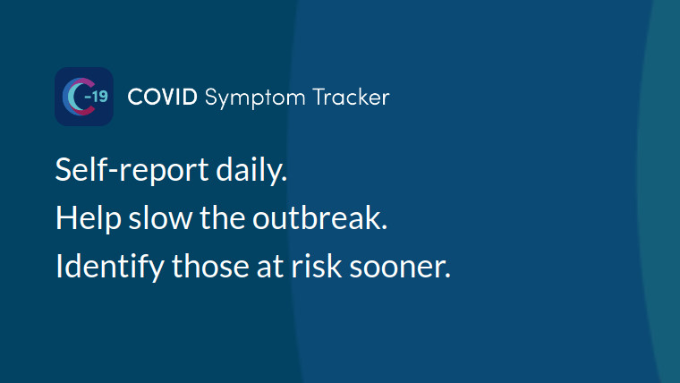 Information about the COVID Symptom Tracker