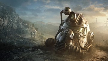 This is a promotional image from Fallout 76
