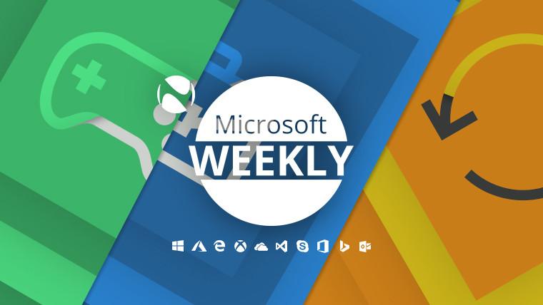 Microsoft Weekly: Phát hành trò chơi tại nhà, năng suất và một loạt các bản cập nhật 2