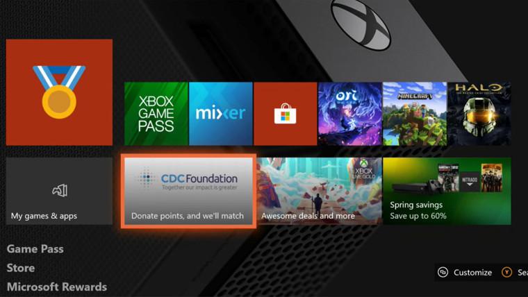 يمكن للاعبي Xbox التبرع بنقاط مكافآتهم لجمعيتين خيريتين إضافيتين 1