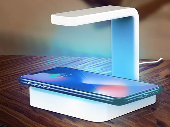 Wireless Charger + UV Sanitizer